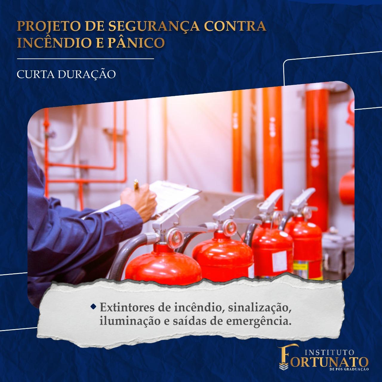 Projeto de Segurança Contra Incendio e Pânico